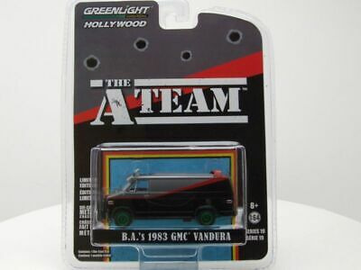 GMC Vandura A-Team Van 1983 TV-Serienmodell GREEN MACHINE, Modellauto 1:64