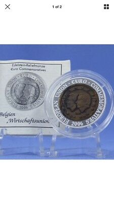 2006 korea 700 won Belgium  silver coin