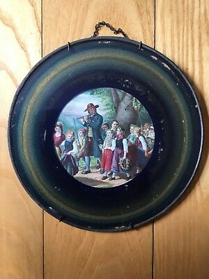 Victorian Antique May Day Parade Children Flute Piccolo Chimney Flue Cover