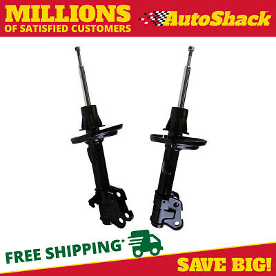 New Front Pair of Bare Strut Shock Absorber Assemblies fits 07-13 Acura MDX