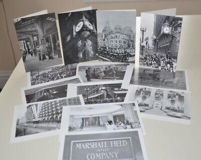 Marshall Field's Note Cards And Paper Vintage Photos