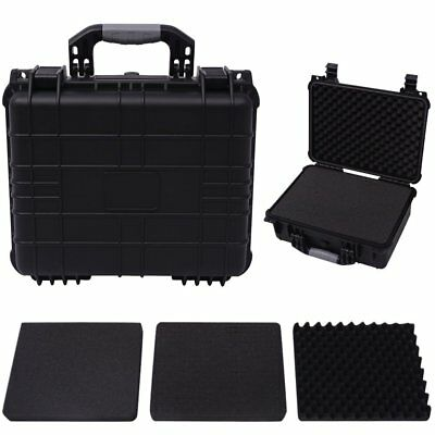 Protective Equipment Hard Carry Case Plastic Box with 3 Removable Foam 3 Sizes✓