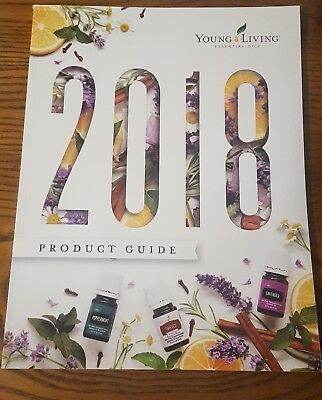 Young Living Essential Oils 2018 Product Guide Catalog  NEW