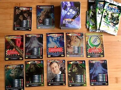 Doctor Who Battles In Time Trading Invader Cards Super Rare
