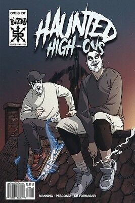 Haunted High-Ons  Twiztid - Insane Clown Posse - Juggalo comic book one-shot