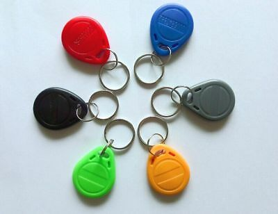 * TWO SureFlap SureFeed Microchip Electronic RFID Cat Flap Collar Tag Disc Key *