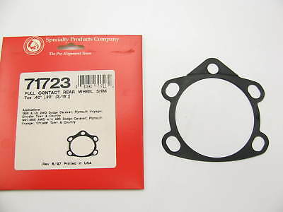 NEW SPC Specialty Products .40° Rear Toe Shim 71723 Caravan Town /& Country 91-17