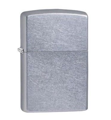 Zippo Lighter #207 Full Size Street Chrome Classic Design Windproof