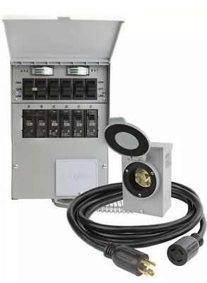 NEW Reliance Pre-Wired 6-Circuit Power 3006HDK Generator Transfer Switch Box Kit