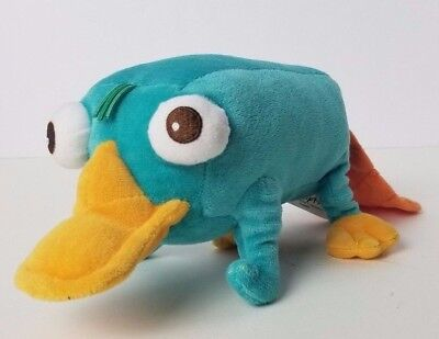 """Disney Parks Authentic Phineas and Ferb 11"""" Plush Perry the Platypus B4"""