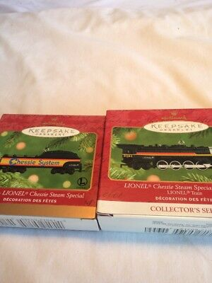 Hallmark Keepsake ( Christmas Train Ornaments) In A Series Or Sets.Pre Owned.