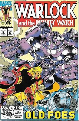 Warlock and the Infinity Watch #5 VF/NM Marvel Comics June 1992