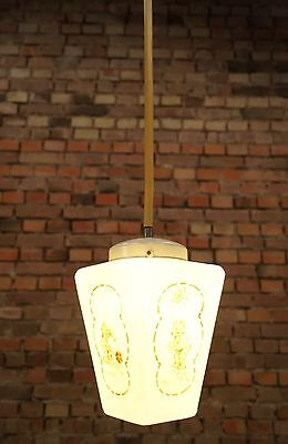 Vintage Ceiling Lamp Art Nouveau Lamp Light Ceiling Light Children's Glass