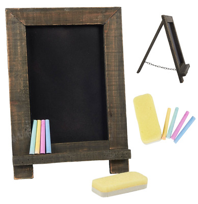Tabletop Chalkboard Sign Restaurant Menu Table Top Cafe Set Bar Pub Coffee  Small