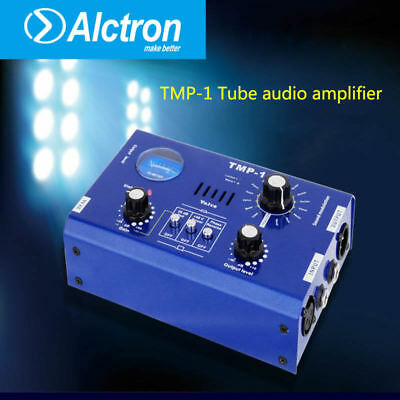 Alctron Tube Microphone Preamplifier Home Stereo Recording Audio Mic Amplifier
