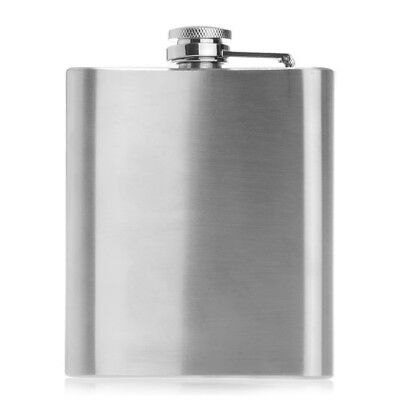 7oz Stainless Steel Alcohol Drink Liquor Hip Flask Pocket Classic I6A5