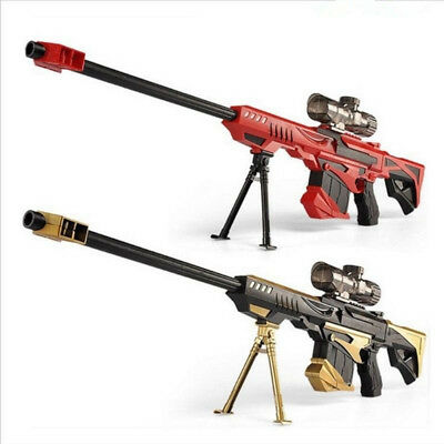 Rifle soft bullet cs gun plastic toys sniper Barrett Nerf rifle water gun toys