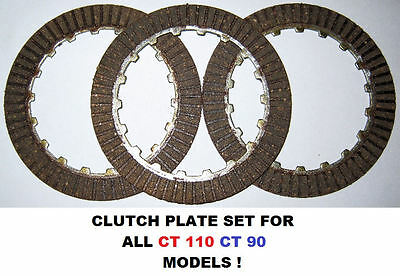Clutch Plate Set For Honda Ct 110 Postie Bike Ct 90 Clutch Plates