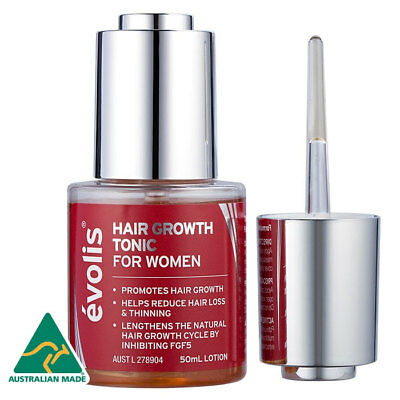 Evolis Hair Growth Tonic For Women 50Ml Lotion Reduce Hair Loss 2 Months Supply