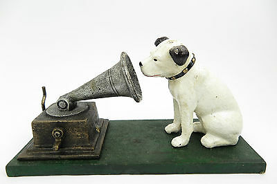 Sculpture Dog Gramophone Logo His Master'S Voice Rogers Foundry Birmingham
