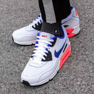 new style 9ccd5 47452 NIKE AIR MAX 90 ESSENTIAL chaussures hommes sport sneaker blanc 537384-136