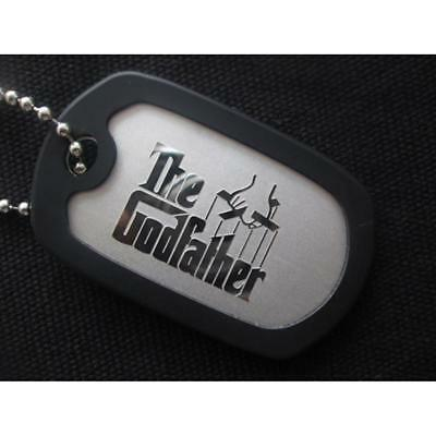 The God Father Military Dog Tag Necklace Pendent