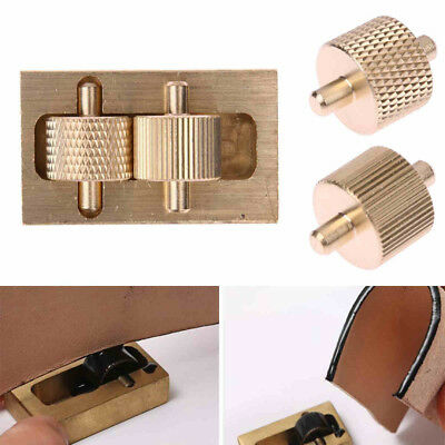 Processing Making Leather Tool Edge Oil Box +2 Rollers Brass DIY Hand Sewing
