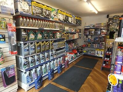 Motor accessories business for sale. All stock, fixtures and fittings included