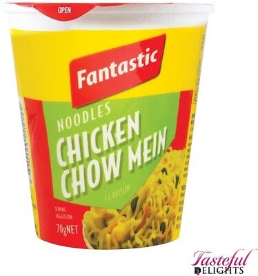 Fantastic Cup Noodles Chick Chow Mein 70g