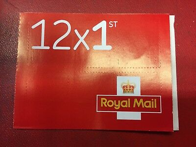Book of 12 x 1st Class Stamps (First Class Royal Mail - Standard) - Free P&P