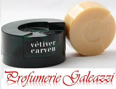 CARVEN VETIVER UOMO SAVONS (SAPONETTA) WITH CASE - 100 g