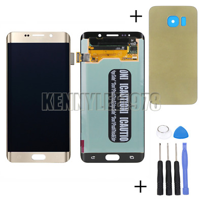 Pour samsung Galaxy s6 edge plus+ SM-G928F G928 LCD Display Ecran tactile oro