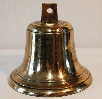 C134 Authentique cloche - bronze - cérémonie - H 14 cm - old bronze bell
