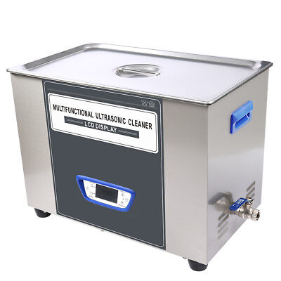 Digital LCD Ultrasonic Cleaner TUC-300 Cleaning Machine 30L Stainless Steel VEP