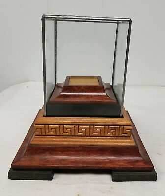Vintage Well Crafted Display Stand Decorative Case for Antique Antiquities