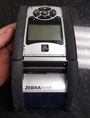 ZEBRA MZ220 PRINTER Portable Thermal Print BLUETOOTH Box NEW FREE
