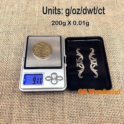NEW 200g 0.01 DIGITAL POCKET SCALE SCALES JEWELLERY PRECISION ELECTRONIC WEIGHT