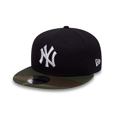 New Era 9FIFTY MLB New York Yankees Navy Team Camouflage Adjustable Snapback Hat
