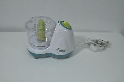 Tommee Tippee Explora Electric Baby Small Handy Food Blender Grinder Processor