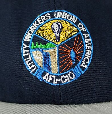 AFL CIO Utility Workers Union of America Hat Cap Ballcap Michigan State Council