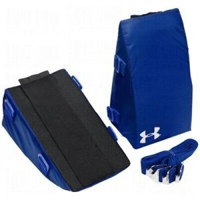 (Youth, Royal) - Under Armour Baseball/Softball Catcher's Knee Supports