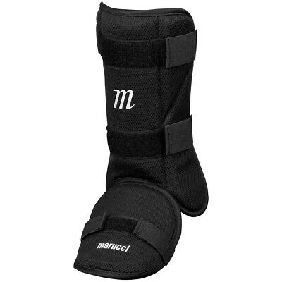 (One Size Fits All, Black) - Marucci Leg Guard. Free Delivery