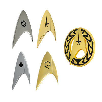 Star Trek Discovery Badge Command Operations Division Starfleet Pin Brooches