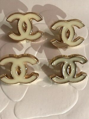 Chanel CC Logo Buttons Set Of 4