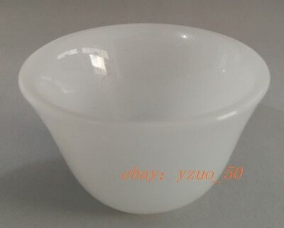 Collection of ancient Chinese fine white jade bowl
