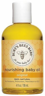 Burt's Bees Baby Bee Nourishing Baby Oil - 115ml