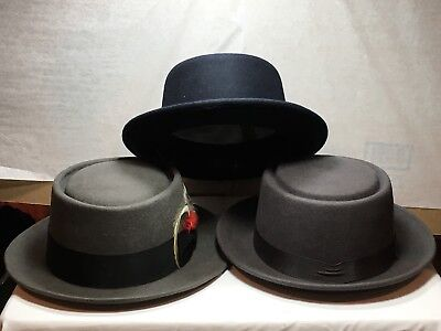 New Capas Porkpie Men's Hats