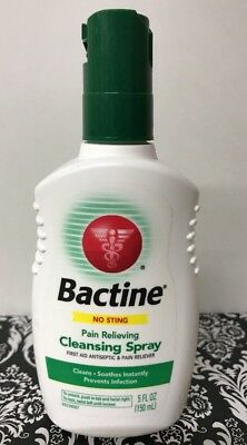 Bactine Pain Relieving Cleansing Spray 5 oz Exp 10/18