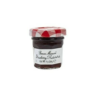 15 x Mini Jars - Bonne Maman Strawberry Preserves 30g