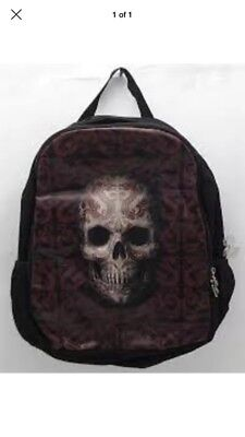 Anne Stokes Oriental Skull Backpack (RRP $39.90)  Brand New Free Post (bcp)